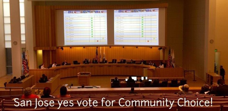 san jose community choice - vote